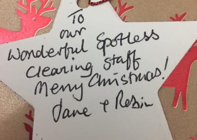 """""""Our wonderful Spotless Cleaning staff"""""""